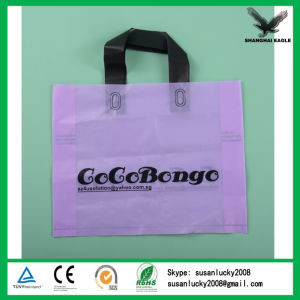 Soft Cheap Loop Handle Plastic Bag Wholesale pictures & photos