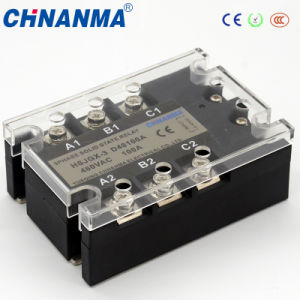 Control 3-32V DC Output 24-380V AC Single Phase SSR 10A Solid State Relay pictures & photos