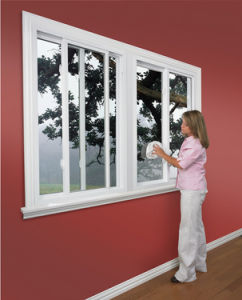 Automatic Glass Sliding Window pictures & photos