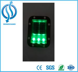 Driveway Traffic Round White Road Stud Reflector for Safety pictures & photos