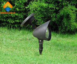 Outdoor LED Garden Lamp Solar Powered Landscape Spotlight pictures & photos