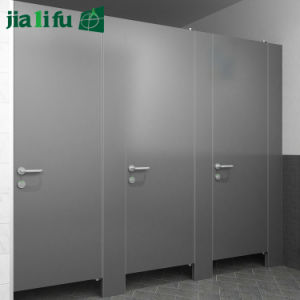 Jialifu Zink Alloy Hardware HPL Individual Restroom Partitions pictures & photos