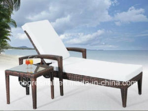 Outdoor Rattan Elegant Wicker Chaise Lounge pictures & photos