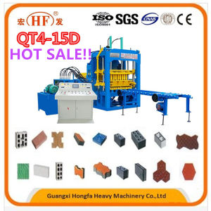 Hf580A Full Automatic Small Concrete Block Making Machine pictures & photos