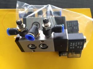 Pneumatic Actuator with Limit Switch Box, Solenoid Valves pictures & photos