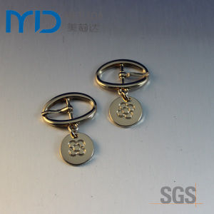 Oval Pin Buckles with Pendant and Drops for Shoes Bags and Garments pictures & photos