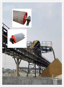 Wd Motorized Rubber Coated Pulley Drum, Electric Conveyor Roller, Conveuor Belt in Machinery pictures & photos