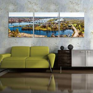 Custom Digital Printed Landscape Oil Painting pictures & photos