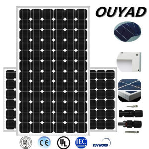 300W Mono PV Solar Panel for Solar Home System pictures & photos