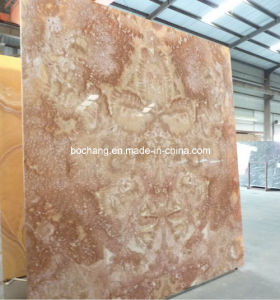 Orange Jade Yellow Marble Tile or Slab for Floor Tile pictures & photos