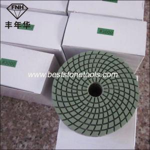 Wd-4 Spiraled Flexible Polishing Pad for Stone Polishing Pad (80/100/125X3.3mm)