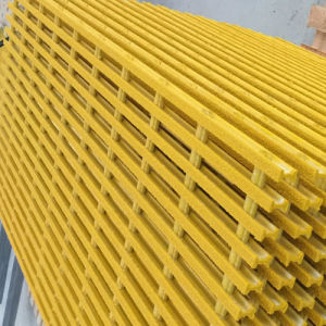 GRP&FRP Grating and Fiberglass Pultruded Pultrusion Grating with High Quality pictures & photos