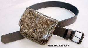 PU Belt with Small Bag pictures & photos