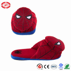 Spider Red Man Plush Stuffed Soft Cartoon Indoor Slippers pictures & photos