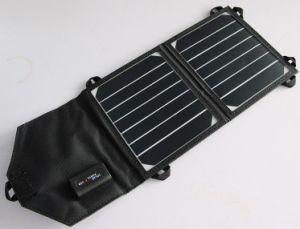 Foldable Solar Power Charger Portable Outdoor Travel Solar Power Pack Solar Charger Bank 7W pictures & photos