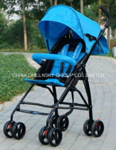 2016 Outdoor Portable Lightweight Blue Baby Stroller with En1888 pictures & photos