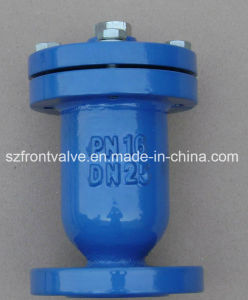 Cast Iron/Ductile Iron Single Ball Air Valve-Flanged End pictures & photos