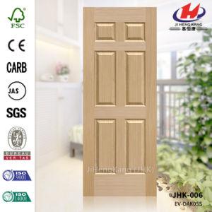 Solid Wooden EV Oak HDF Molded Door Skin pictures & photos