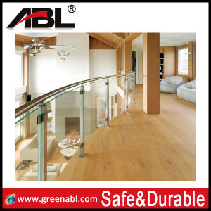 Stainless Steel Interior Stairs Glass Railing (DD138) pictures & photos