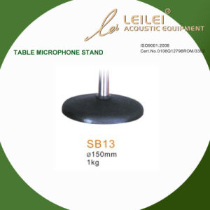 Ajustable Table Microphone Stand Base (SB13) pictures & photos