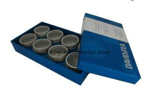 Small Metal Tea Set Tin Box in Cardboard Display Gift Box