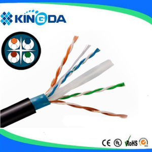 Outdoor CAT6 cable LAN cable network cable pictures & photos