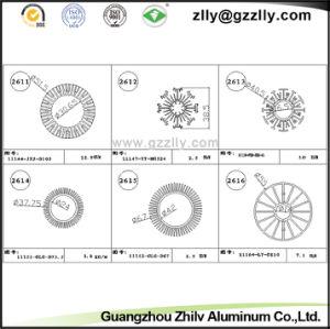 Fluorocarbon Spraying Aluminum Profile Heatsink/Aluminum Alloy pictures & photos