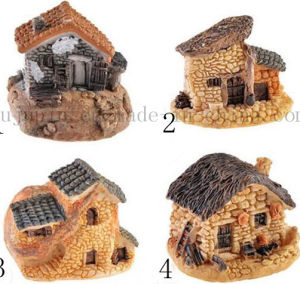Custom Creative House Shape Resin Craft for Home Decoration Gift pictures & photos