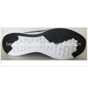 Newest design Mesh Fabric with PU Leather Shoes Sneaker Men Shoe pictures & photos