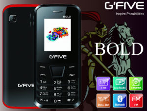 Gfive Bold Feature Phone with FCC, Ce, 3c