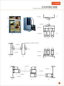 Powder Coating aluminium Folding Door pictures & photos