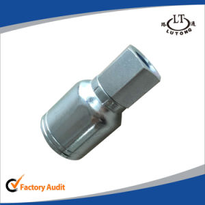 Steel Hydraulic Hose One Piece Parker Pipe Fittings pictures & photos