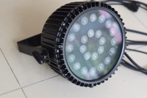 Guangzhou Yuelight 24PCS 5in1 Intelligent PAR Light pictures & photos