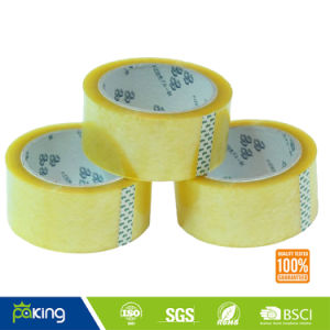 Light Yellow Adhesive Polypropylene Packaging Tape pictures & photos