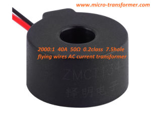 2000: 1 40A 50ohm 0.2class 7.5hole Flying Wires Current Transformer (ZMCT134) pictures & photos