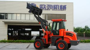 Hydraulic Transmission Minicargadora Wheel Loader Zl20 pictures & photos