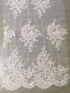 Factory Embroidery Lace for Wedding Veil pictures & photos