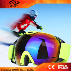 Frameless Anti-Fog Lens Ski Goggles, Snow Goggles pictures & photos