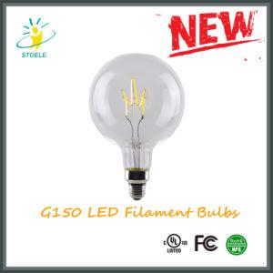 G150 E40 Decorative LED Bulb Soft Filament LED Light Bulb