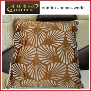 Embroidery Decorative Cushion Fashion Velvet Pillow (EDM0319) pictures & photos
