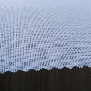 High Quality Gumed Cap Interlining Woven Fusible Interlining Hot Selling pictures & photos