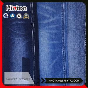 9.6oz Mecerrized Cotton Denim Fabric Stored Sale pictures & photos