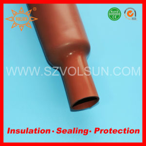 High Temperature Resistant Silicone Rubber Heat Shrinkable Tube pictures & photos