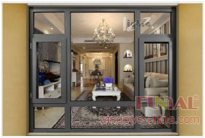 Residential Aluminum Awning Window Manufacturers pictures & photos