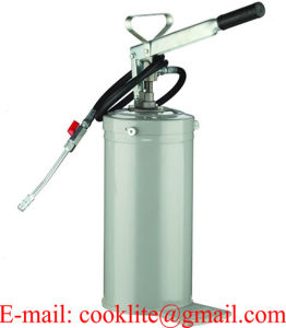 Hand Operated Bucket Lubrication Pump Manual Greaser - 5L pictures & photos
