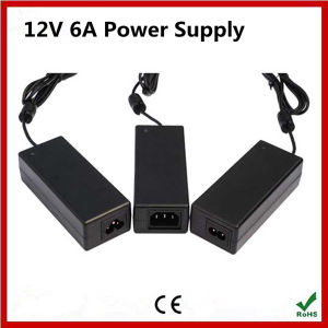 High Quality 12V 6A AC Power Supply pictures & photos