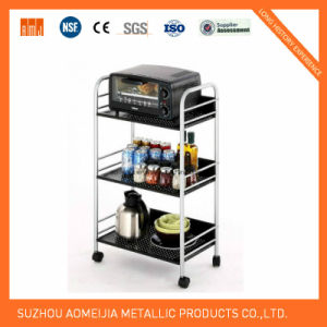 Metal Wire Display Exhibition Storage Shelving for Spain Shelf pictures & photos