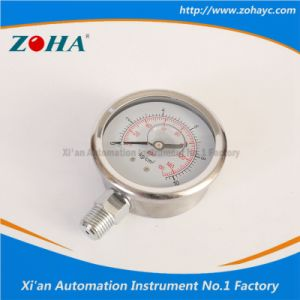 Multi-Purpose Shock Resistance All Stainless Steel Manometers pictures & photos