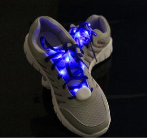 Flashing Nylon Shoelace Flashing Shoe Laces LED Shoelace for Party