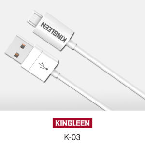 Kingleen Model K-03 Micro USB Data Cable 1.2m   for Samsung/HTC pictures & photos